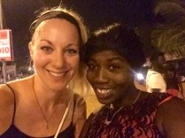 Night out on the Strip with Mariama