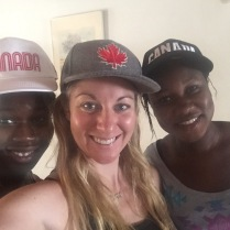 Mariama and Ndey, my Gambian sisters