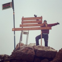 At the top of the world!