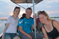 Cruising on the Chobe River