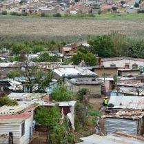 Slums in Soweto