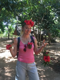 Visiting the spice farm in style!