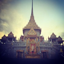 The Temple of Golden Buddha