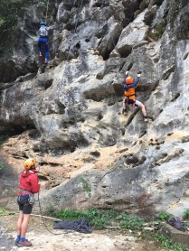 Rockclimbing time!