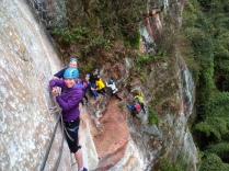 My first time on a via ferrata!
